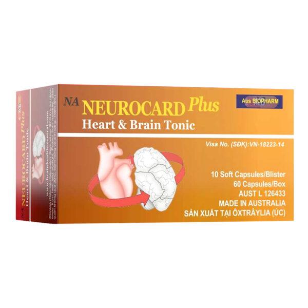 NA Neurocard Plus Hộp 60 Viên - Tăng Cường Trí Nhớ