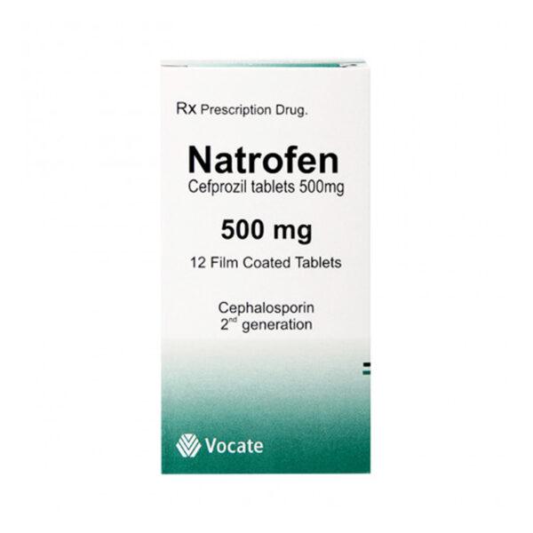 Natrofen 500mg Hộp 12 Viên - Điều Trị Nhiễm Trùng