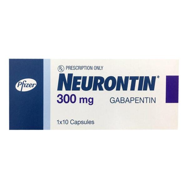 Neurontin 300mg Hộp 10 Viên - Điều Trị Động Kinh