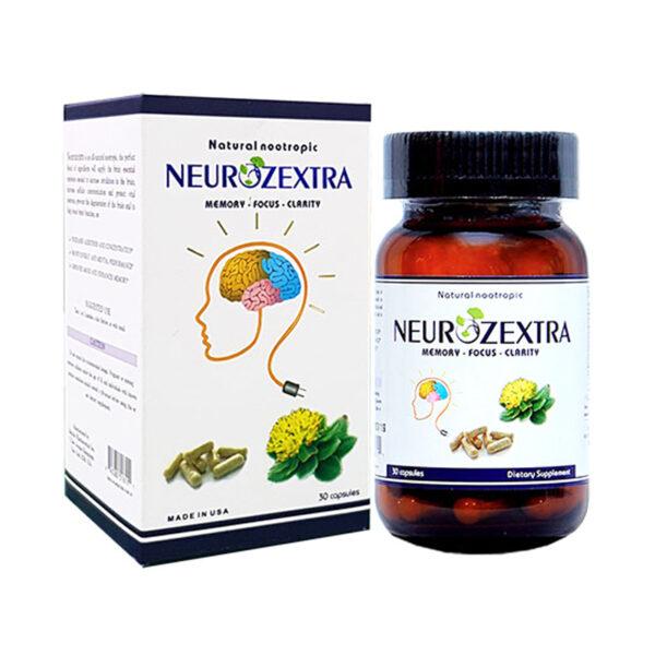 Neurozextra Lọ 30 Viên - Tăng Tuần Hoàn Oxy Cho Não