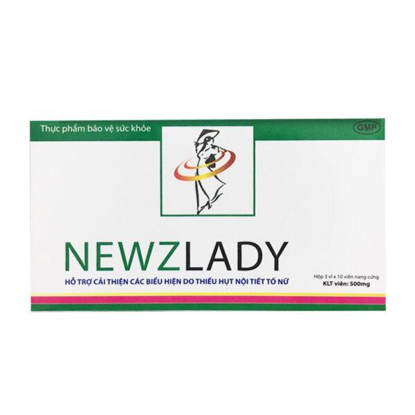 Newzlady Hộp 30 Viên - Cân Bằng Nội Tiết Tố