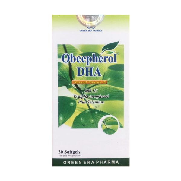 Obeepherol DHA Hộp 30 Viên - Hỗ Trợ Sức Khỏe Tuần Hoàn
