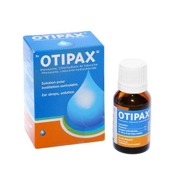 Otipax Ear Drops 15ml - Điều Trị Đau Do Viêm Tai