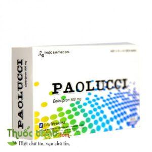 Paolucci 500mg (3 vỉ x 10 viên)
