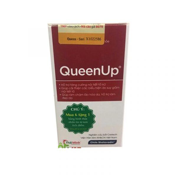 Queen Up Hộp 30 viên - Tăng cường nội tiết tố nữ