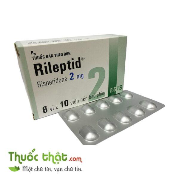 Rileptid 2mg (6 vỉ x 10 viên/hộp)