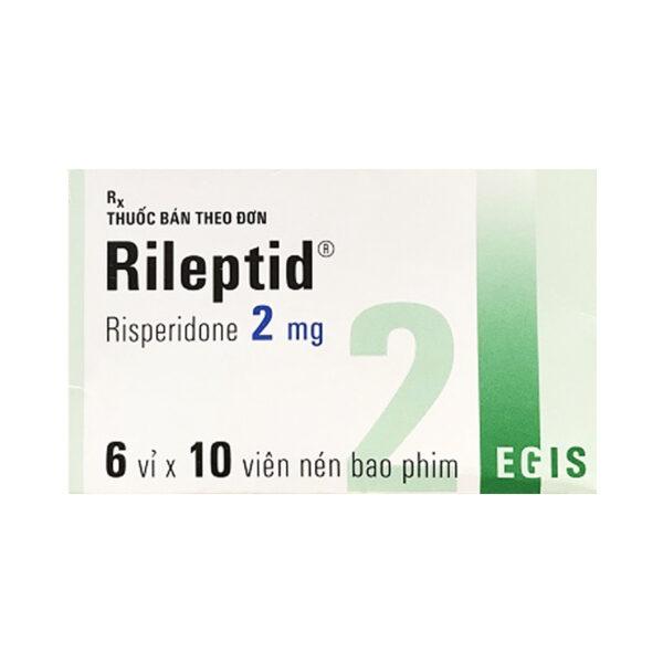 Rileptid Hộp 60 Viên - Điều Trị Tâm Thần Phân Liệt