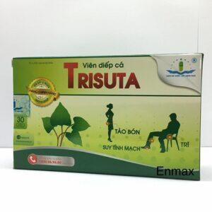 Trisuta Hộp 30 viên - Giảm táo bón, hỗ trợ điều trị bệnh trĩ