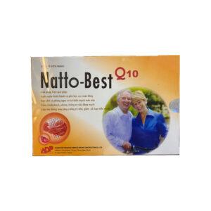 Natto Best Q10 Hộp 30 Viên -Hỗ trợ điều trị tai biến mạch máu não