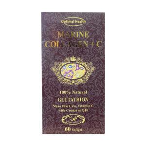 Marine Collagen + C hộp 60 viên - Chống oxi hóa