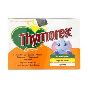 Cốm Thymorex Hộp 20 gói - Tăng cường miễn dịch cho trẻ