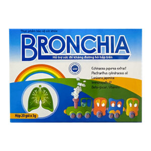 Bronchia Hộp 20 gói - Tăng cường sức đề kháng