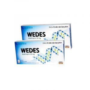 WEDES - Hộp 2 vỉ x 10 viên