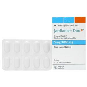 Jardiance Duo 5mg/1000mg - Điều trị tiểu đường Hộp 30 viên