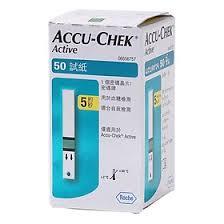 Accu Chek Active-Hộp  50 Que-Que Thử Đường Huyết