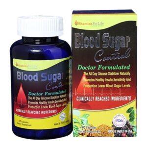 Blood Sugar Control-Hộp 60 Viên-Phục Hồi Chức Năng Tuyến Tụy