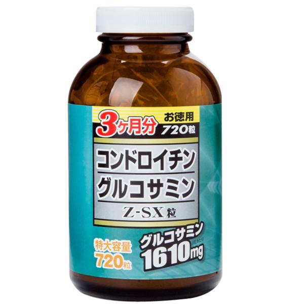 Viên Uống Glucosamine Chondroitin Z-SX Hộp 720 Viên - Hỗ Trợ Bảo Vệ Xương Khớp