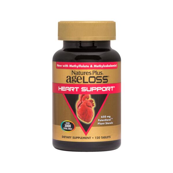 Ageloss Heart Support - Hộp 120 Viên - Hỗ Trợ Tim Mạch