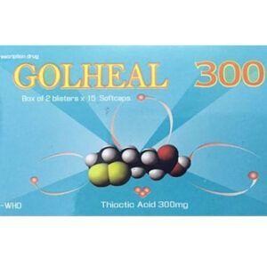 Golheal 300 Hộp 30 viên - Điều trị rối loạn thần kinh do đái tháo đường