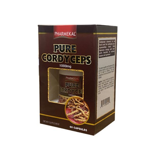 Pure Cordyceps 60 Viên-Giúp Cơ Thể Khỏe Mạnh