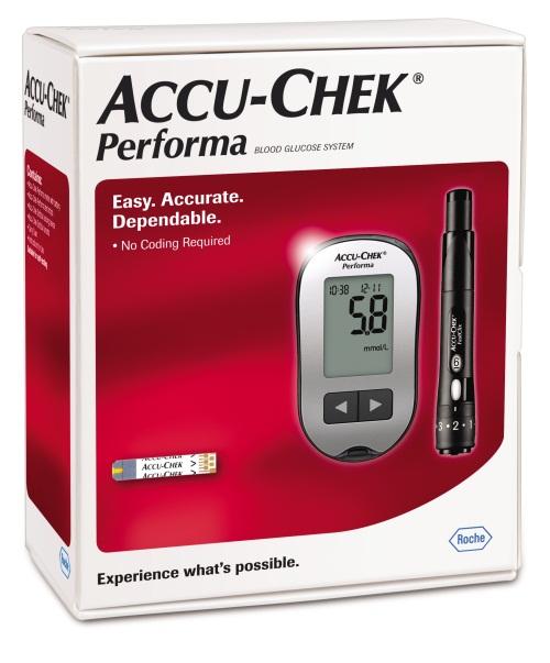 que Accu Chek Performa dùng cho máy Accu Chek Performa
