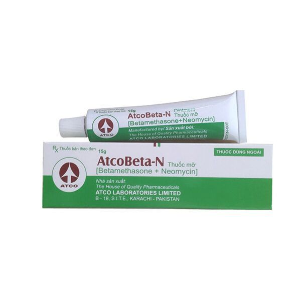 Thuốc Mỡ Atcobeta - Tuýp 15g - Điều Trị Các Bệnh Về Da