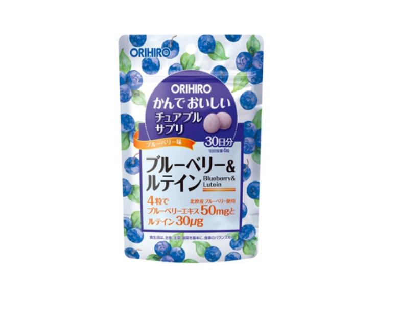 Blueberry và Lutein Orihiro