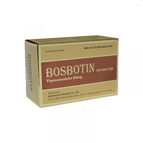 Thuốc Bosbotin - Hộp 60 Viên - Tăng Cường Sức Đề Kháng