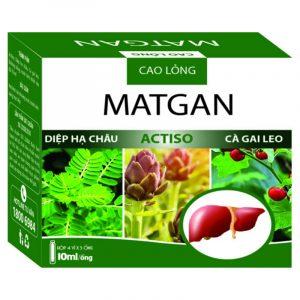 Cao Lỏng Matgan - Hộp 20 Ống - Tăng Cường Chức Năng Gan