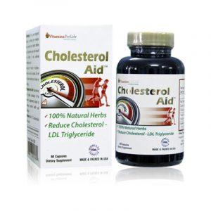 Cholesterol Aid - Hộp 60 Viên - Giúp Ổn Định Mỡ Máu
