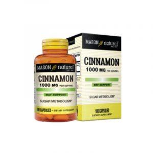 Cinnamon 1000mg Hộp 100 Viên - Hỗ Trợ Ổn Định Đường Huyết