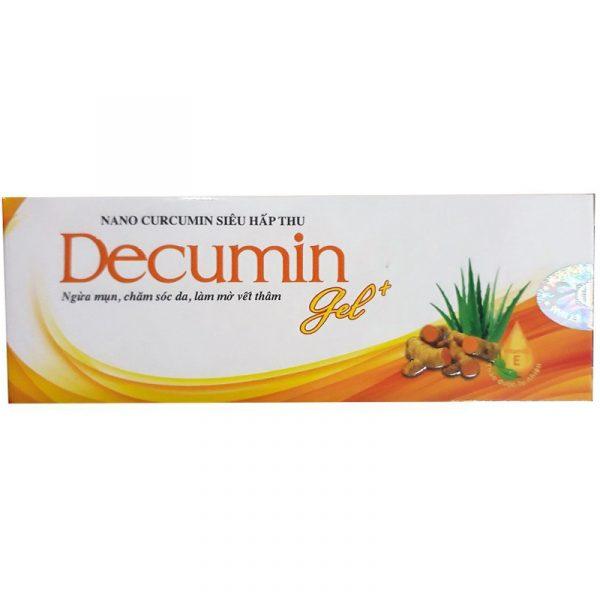Decumin Gel Tuýp 25g - Gel trị mụn, ngừa thâm sẹo