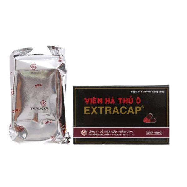 Viên Hà Thủ Ô Extracap Hộp 50 viên - Bồi bổ cơ thể