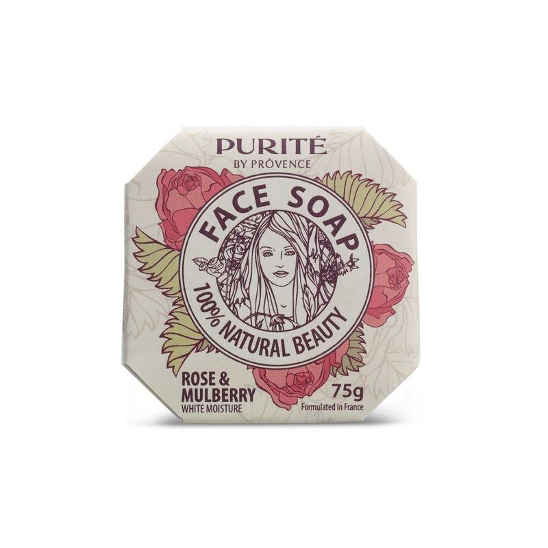 Face Soap Rose Xà Bông Rửa Mặt Hoa Hồng 75 g