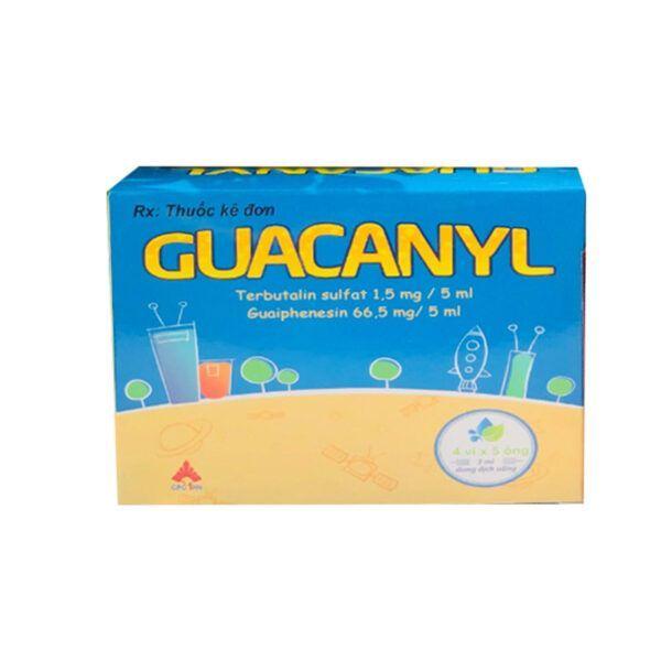 Thuốc Guacanyl-Hộp 20 Ống-Điều Trị Ho Do Bệnh Hô Hấp