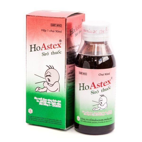 Ho Astex Chai 90ml - Điều trị vấn đề về đường hô hấp