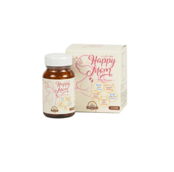 Happy Mom - Hộp 60 Viên - Vitamin Tổng Hợp Cho Bà Bầu