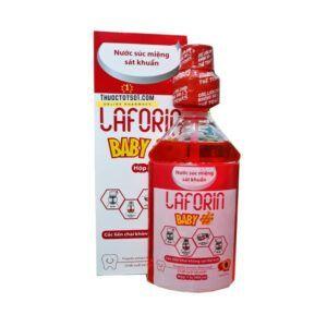 Nước Súc Miệng Laforin Baby-Lọ 500ml-Giúp hơi Thở Thơm Mát