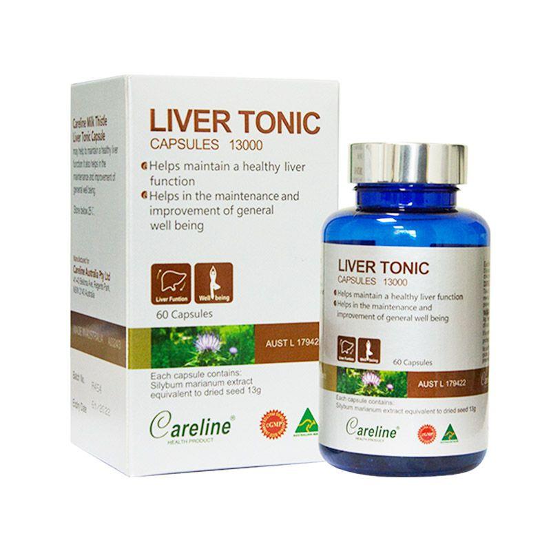 Liver Tonic Hộp 60 Viên - Bổ Gan, Duy Trì Chức Năng Gan