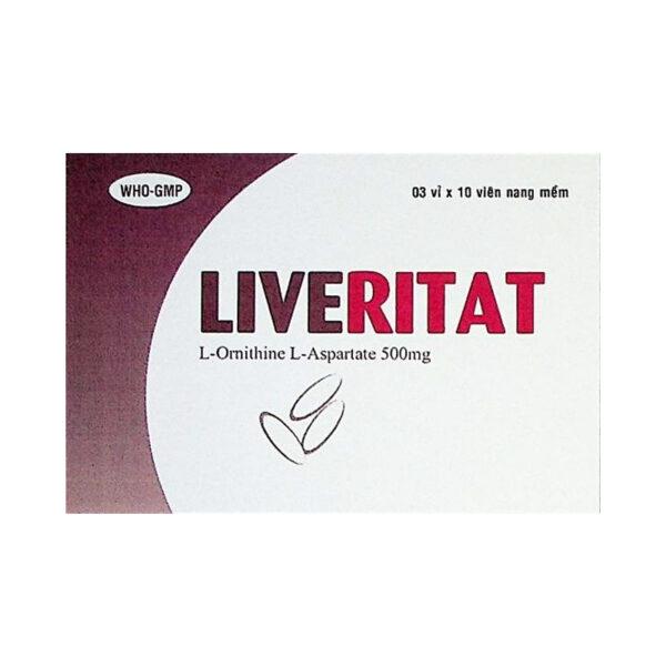 Thuốc Liveritat - Hộp 30 Viên - Điều Trị Bệnh Gan