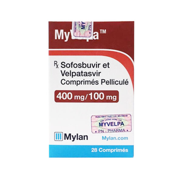 MyVelpa Hộp 28 Viên - Điều Trị Viêm Gan Virus C