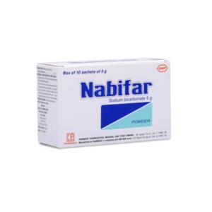 Bột Nabifar-Hộp 10 Gói-Khử Mùi Và Làm Sạch