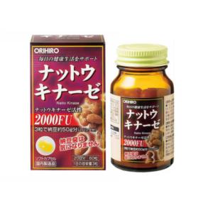 Natto Kinase Orihino lọ 60 viên - Viên Uống Hỗ Trợ Điều Trị Tai Biến