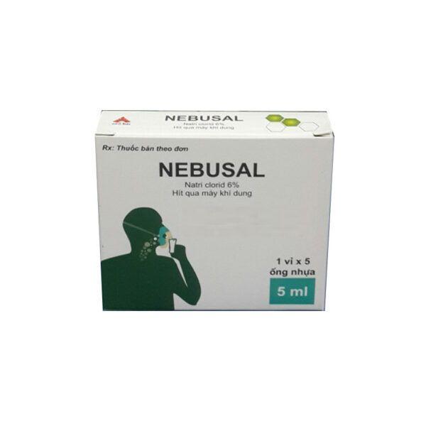 Thuốc Nebusal-Hộp 5 Ống-Giữ Ẩm Và Làm Sạch Mũi