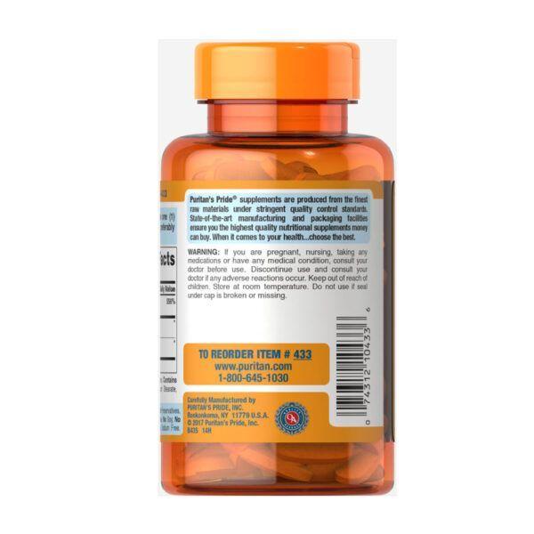 Viên Uống Bổ Sung Vitamin C Puritan's Pride C-500mg Lọ 100 Viên