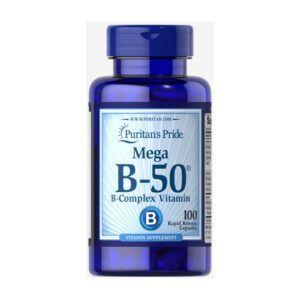 Vitamin B50 Complex Lọ 100 Viên - Bổ Sung Vitamin B Tổng Hợp