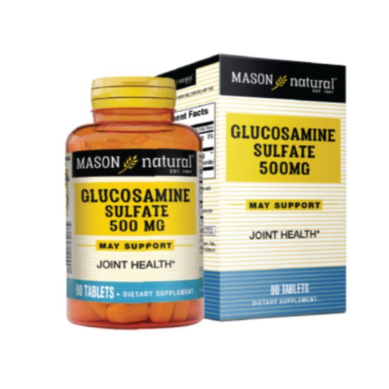 Glucosamine Sulfate 500mg Hộp 90 Viên – Hỗ Trợ Sức Khỏe Xương Khớp
