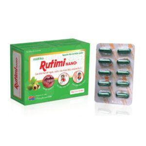 Rutimi Nanc-Hộp 30 Viên-Giảm Nhiệt Miệng, Mẩn Ngứa