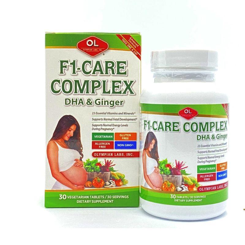 F1 Care Complex Lọ 30 Viên - Vitamin Tổng Hợp Cho Bà Bầu