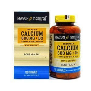 Calcium 600mg + D3 Hộp 100 Viên- Hỗ trợ sức khỏe xương khớp